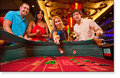 Craps at the live casino