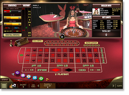 Play Playboy Bunny live dealer games online