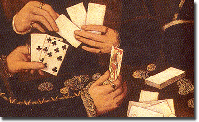 Origins of blackjack