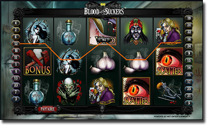 Play Blood Suckers online slots