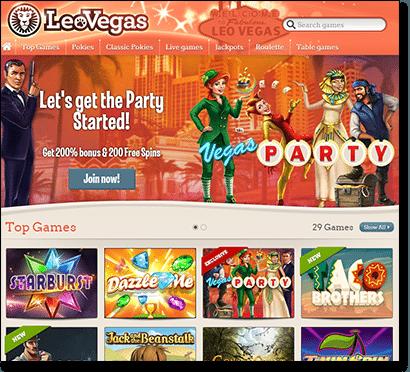 Leo Vegas online casino for Australian punters