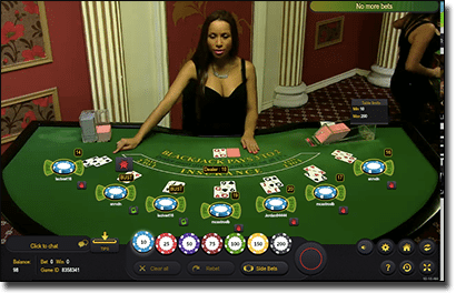 Ezugi live dealer 21 for real money online