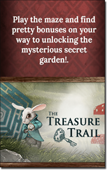 Treasure Trail promotion at RoyalVegasCasino.com