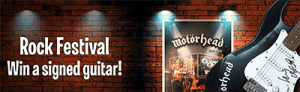 Motorhead promotion at Leo Vegas Casino