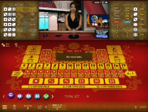 Microgaming's Live Dealer Sic Bo