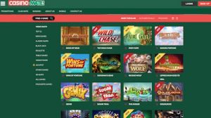 Casino-Mate game lobby