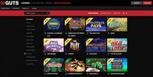Guts.com game lobby