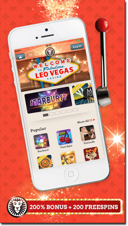 Leo Vegas Mobile and app casino