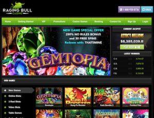 Raging Bull instant-play casino