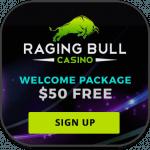 Raging Bull mobile casino