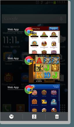 Web Casino App