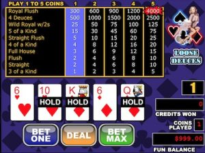 RTG video poker