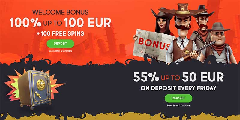 Gunsbet.com bonus offer