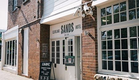 Cleveland Sands Hotel in Brisbane, Queensland