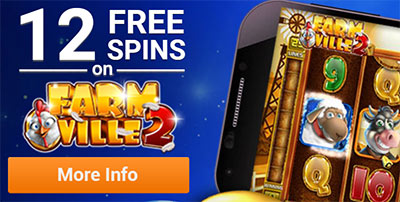 12 free spins on Farm Ville 2