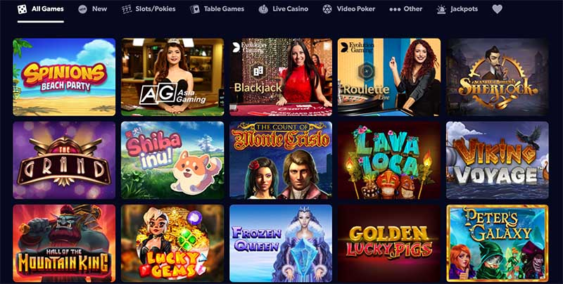 Kahuna Casino games - a multi software igaming site